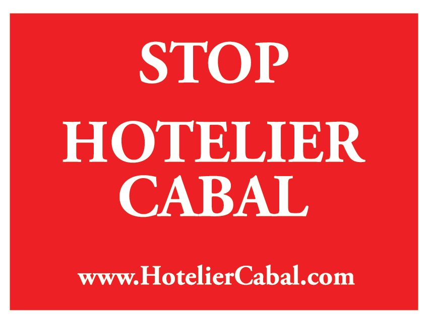 Stop Hotelier Cabal